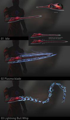 ArtStation - Power Rangers : Power Sword, Alex J Cunningham Ninja Weapons, Anime Weapons, Sci Fi Weapons, Robot Concept Art, Armor Concept, Weapon Concept Art, Fantasy Sword, Fantasy Weapons, Fantasy Character Design