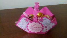 Panier de chocolats. Merci à ma belle-soeur pour l'idée du panier !!!
