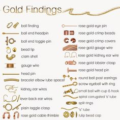 Yellow and Pink Gold Filled Jewelry Making Supplies and Findings House of Gems, Inc. - Google+ Crimp Beads, Gold Eyes, Head Pins, Gold Filled Jewelry, Jewelry Making Supplies, Jewelry Findings, Pink And Gold, Diy Gifts, Gems