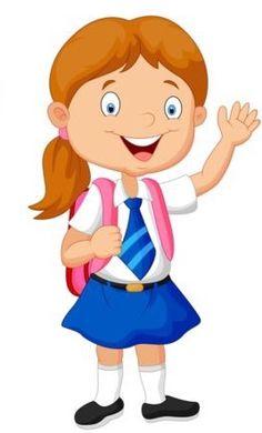 Student Cartoon, School Cartoon, School Clipart, Kids Around The World, Cartoon Sketches, Preschool Classroom, Happy Kids, Pre School, School Projects
