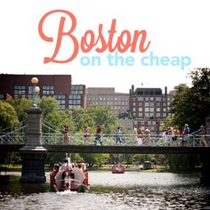 Before moving to Boston, neither Johnny nor I had ever even stepped foot in the city. But it was love at first sight. We were moving from New York City, and I was expecting more of the same. But, no, no, no. First, Boston is pretty small. Since it's one of our country's oldest cities,