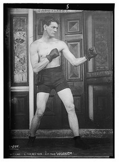 Jimmy Clabby. Boxing (LOC) by The Library of Congress