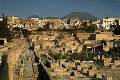 Site arqueologico de Herculano, Napoles