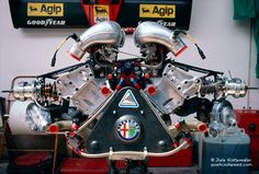 A thing of beauty, Alpha Romeo #F1 engine. Best of Dale Kistemaker – Engines
