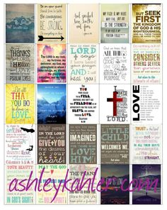 MISC Bible Verse Boxes