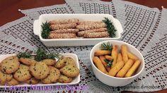 Αλμυρά μπισκοτάκια Υπέροχα τραγανά μπισκοτάκια Μια συνταγούλα της αδερφής μου της Θάλειας Υλικα βασική ζύμη 400 γραμ αλεύρι γοχ 100 …