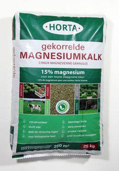 #Horta Gekorrelde #Magnesiumkalk 25kg -  De voordeligste #korrel-#kalk !!!