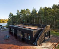 Container Home with Roof Deck