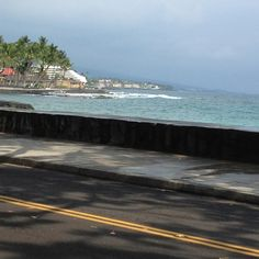 Ali'i Drive Kona, Hawaii...Ali'i Drive is where all the good stuff is at and our place is right up the street on Ali'i ❤