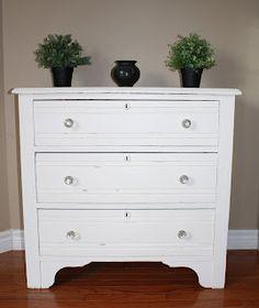 Vintage Renewed #shabbychic #antique #furniture