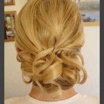 Hairstyles, Vintage Wedding Hairstyles: Simple Style of Wedding Updos For Medium Length Hair