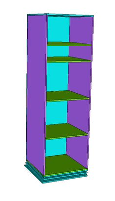 Ana White   Build a Rotating Teen Storage Unit   Free and Easy DIY Project and Furniture Plans