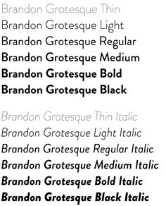 Brandon Grotesque (Typefamily) by HVD Fonts, via Behance Web Design, Graphic Design, Graphic Art, Brandon Grotesque, Free Fonts For Designers, Classic Fonts, Modern Fonts, Modern Typography, Online Advertising