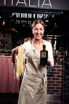 Fersk pasta økologisk fra Italia