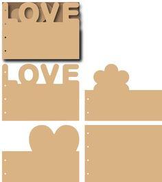 Let's get bizzee MDF Mini Album Love More details on our blog www.letsgetbizzee.blogspot.com
