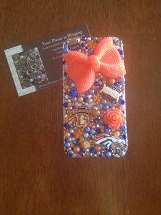 iPhone  Denver bronco custom case