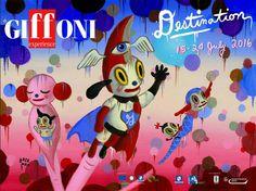 Il nuovo poster ufficiale del #GiffoniFestival per il 2016, firmato da #GaryBaseman. #RWF