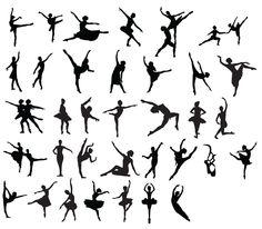 free KLDezign les SVG: Des ballerines!