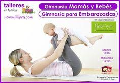 Gimnasia mamás y bebés y para embarazadas con FidioByM