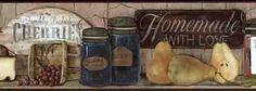 Country Preserves and Jams Wallpaper Border CB5514BDB - Wallpaper ...