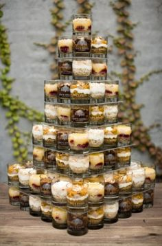 cake in a cup dessert inspiration bee's knees