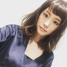 みんなが期待してくれているショートではありませんが>_<アレンジver. #newhair by mirei_kiritani_