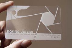 Transparent Business Cards - Quieres una tarjeta como esta? Con nosotros puedes. -Tarjenova-