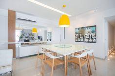 Apartamento Moderninho : Salas de jantar modernas por Fábrica Arquitetura