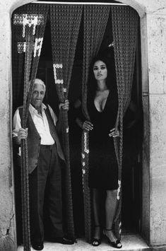Buongiorno… Maria Grazia Cucinotta - Ferdinando Scianna Magnum photos,1995