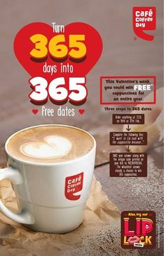 Earn free coffee for the entire year at CCD Inorbit Whitefield