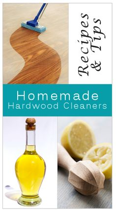 Homemade Hardwood Cleaners