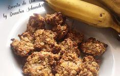 Biscoito de banana com granola                                                                                                                                                                                 Mais