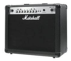 Marshall MG4 Carbon Series MG30CFX 30 Watt Guitar Combo Amplifier 1x10 Combo with 4 Programmable Channels, Effects, MP3 Input by Marshall Amps. $199.99. All MG4 Carbon Series solid-state amps are innovative, highly functional and produce great tone combining years of experience in analogue amplification with cutting edge digital technology. These amps are ideal for the beginner and gigging pro alike. The carbon series offers modern looks and new features which set these amps apar...