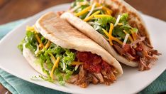 NEW Slow-Cooker Mexican Pork Tacos