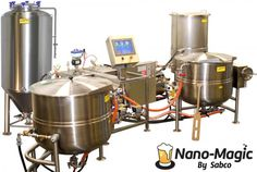 Nano-Magic Nano Brewery, Home Brewery, Beer Brewing Kits, Brewing Company, Brewery Design, Home Brewing Equipment, Food Truck Design, Beer Recipes, Coffee Recipes
