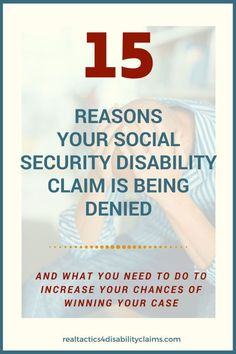 People get denied disability everyday. But do you really you know why they got denied? Learn what it takes to win + why a denial should not stop your claim. Disability Help, Disability Insurance, Disability Awareness, Cancer Awareness, Disability Application, Fibromyalgia Disability, Chronic Fatigue Syndrome Diet, Coping With Depression, Fighting Depression
