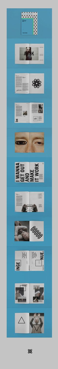 Amok - Atoms for Peace dossier #layout #editorialDesign