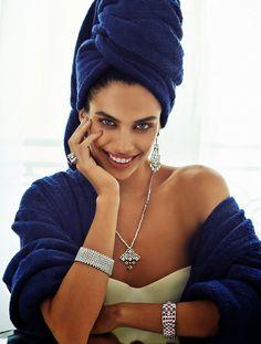 Sara Sampaio for Vogue Spain December 2014