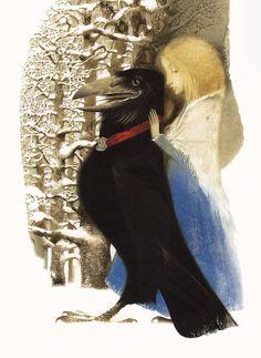 çizgili masallar: The Snow Queen by Pavel Tatarnikov
