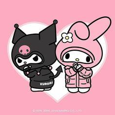 My Melody Wallpaper, Sanrio Wallpaper, Hello Kitty Wallpaper, Cartoon Wallpaper, Hello Kitty Art, Hello Kitty My Melody, Sanrio Hello Kitty, Hello Kitty Tattoos, Neon Rosa