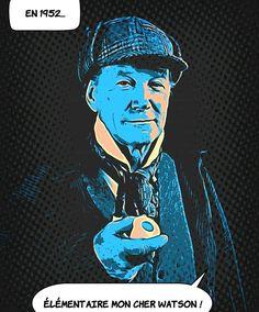 29 septembre 1952 ... A Memphis Tennessee aux Etats-Unis on procède à l'arrestation d'un cambrioleur coupable de 310 hold-up. Ironie du sort il a pour nom Sherlock Holmes. .. #histoire Memphis Tennessee, Sherlock Holmes, Joker, Fictional Characters, Art, Art Background, Kunst, Fantasy Characters, The Joker