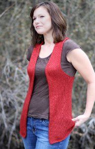 This free knitting pattern is much simpler than it seems.  Download the Simply Elegant Vest to discover the closet staple your wardrobe's been missing!