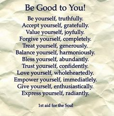 Be Good to Yourself especially after Narcissistic Abuse! when you've been pummeled into the ground by a narcissist.  Your soul is crying out for you to take care of yourself after ignoring the warning signs for so long. If you would like to know how to heal after narcissistic abuse let me show you how!!  #narcissist #abuse #recovery #awakening
