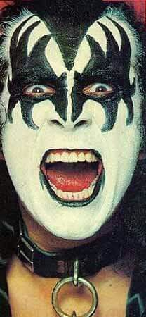 Gene Simmons -Kiss.........