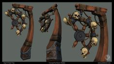 [UDK] Pirate Environment Assets WIP (Vlaskin) - Polycount Forum