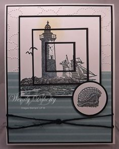 Calm Seas Triple Stamping by Wdoherty - Cards and Paper Crafts at Splitcoaststampers