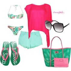 Adorable summer outfit!