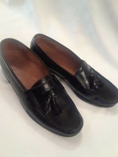 c7e63f48702 (eBay link) MENS COLE HAAN SHOES PINCH TASSEL BLACK LEATHER LOAFERS SIZE  9.5M  fashion  clothing  shoes  accessories  mensshoes  dressshoes