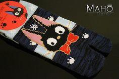 JAPANESE style Kiki's Delivery Service Ghibli TABI toe finger socks 23-25cm NEW