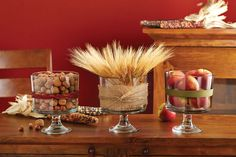 Easy and affordable Trifle Bowl centerpieces